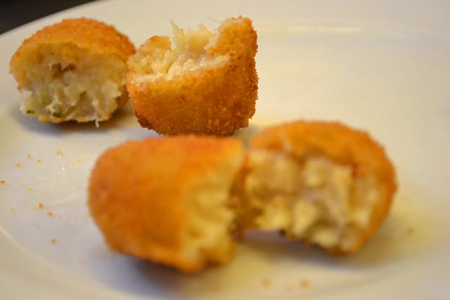 Ham Croquette and Fish Croquette, Pinotxo
