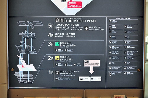 羽田機場其它樓層
