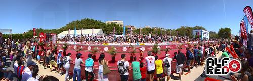 Panoramic - FINISH LINE HALF CHALLENGE BARCELONA MARESME 2012