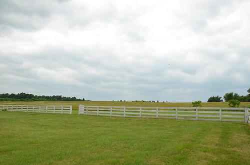 field fence landscape scenic mo missouri ozarks historicsite ashgrove statehistoricsite nathanboone