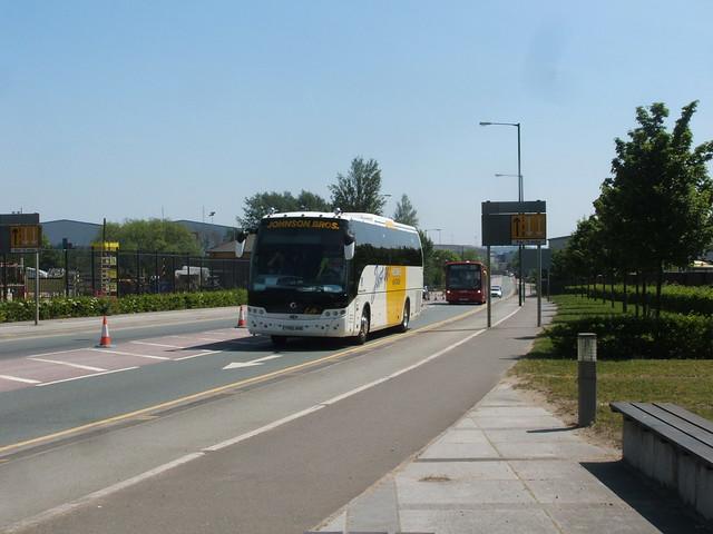 Johnson Bros Tours Beulas bodied Irisbus Eurorider PN10 AHD