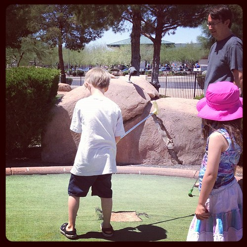 Miniature golf @crackerjax