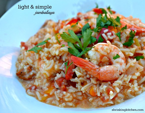 Light & Simple Jambalaya