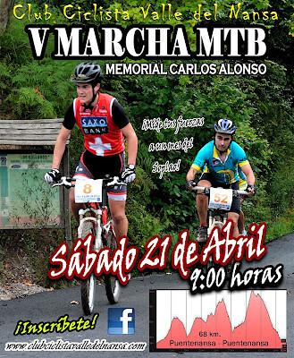 poster club ciclista valle del nansa 2012