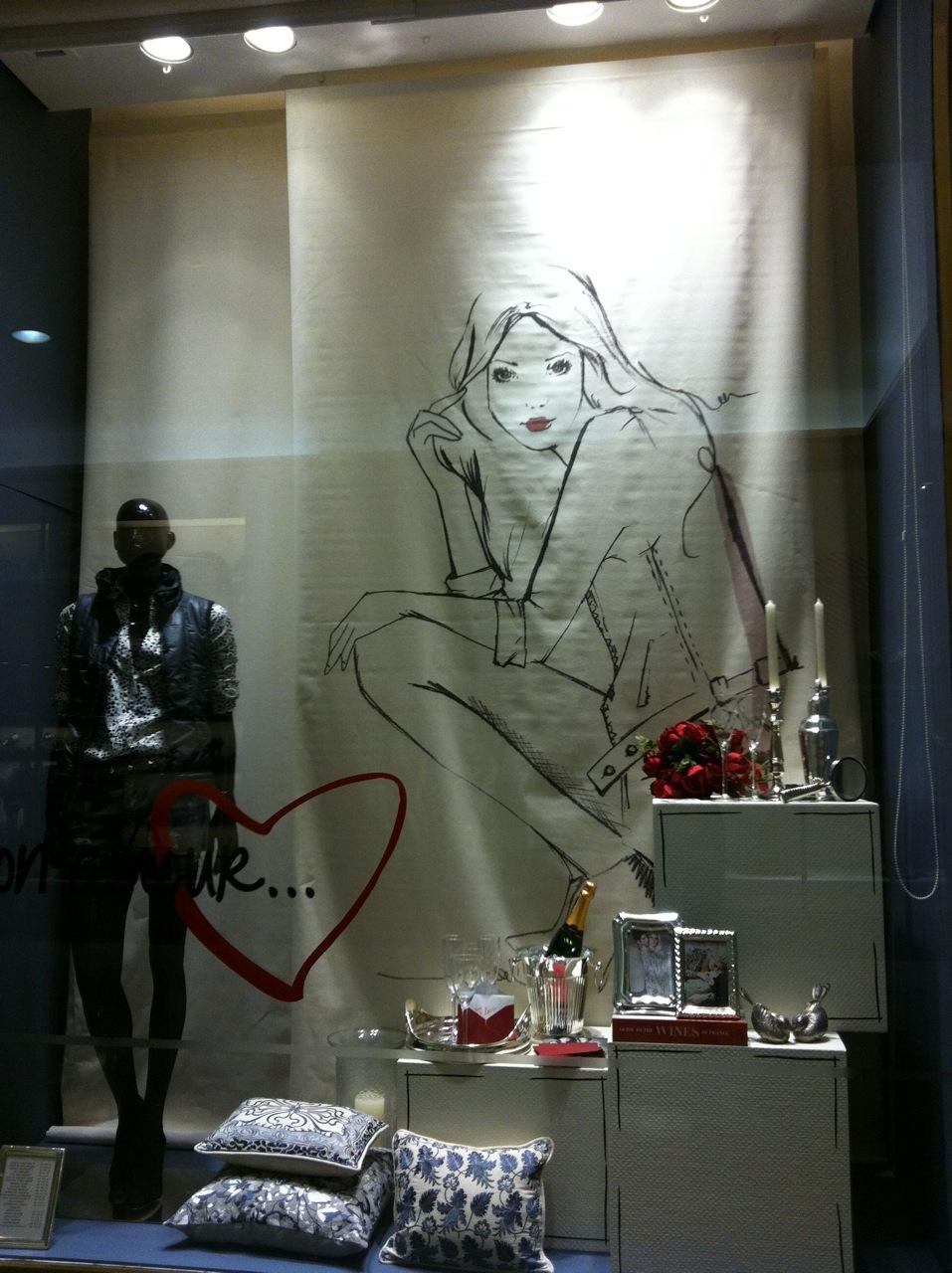Luisa Aguiar assina vitrine para Le Lis Blanc