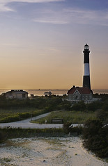 Fire Island Lighthouse at Sunset KAP image II