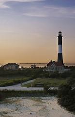 Fire Island Lighthouse at Sunset KAP image II