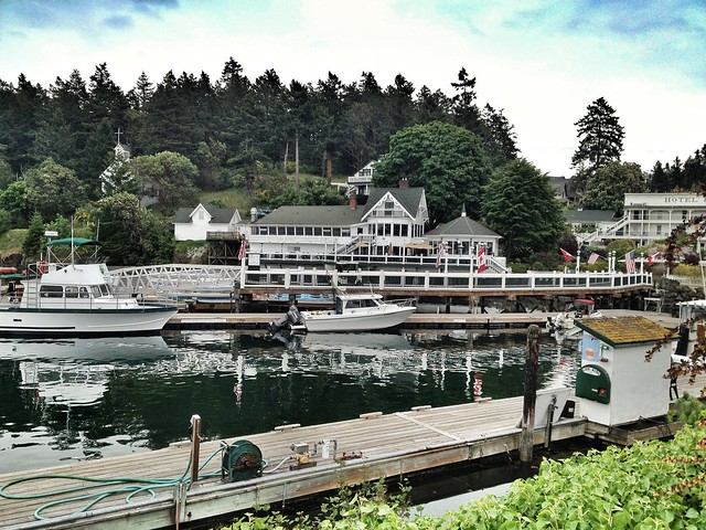 Roche Harbor Marina Entrance