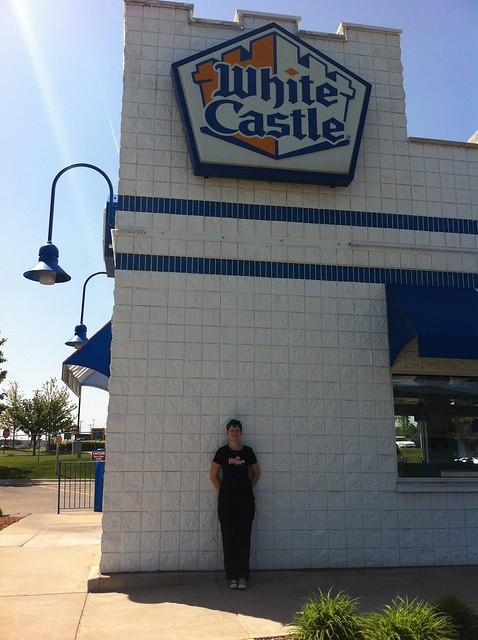 Shannon at White Castle in Flint