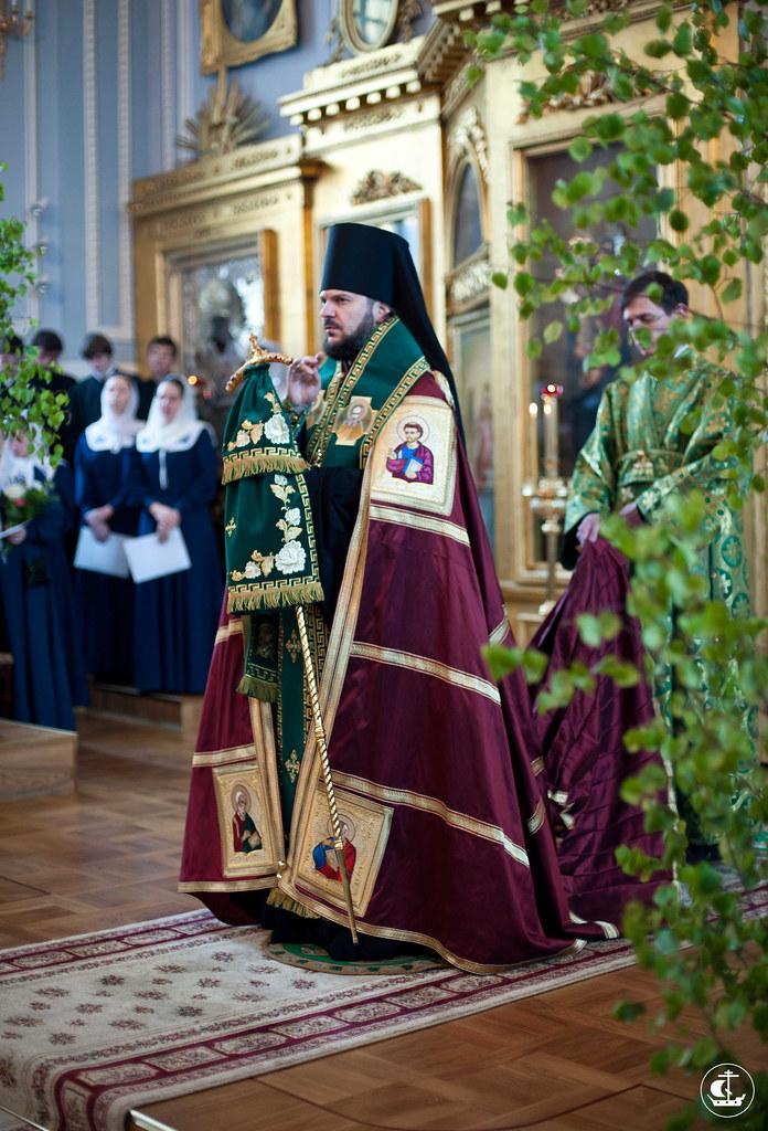 2 июня 2012, Всенощное бдение на кануне дня Святой Троицы