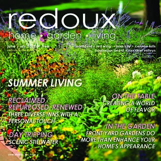 Redoux Magazine cover - June/July 2012