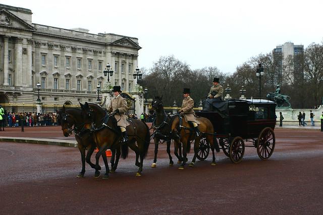 Лондон, Королевская почта по-прежнему работает