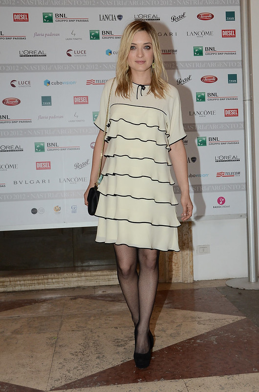 Carolina Crescentini in Moschino (4.06.2012)