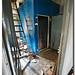 cámara frigorífica azul