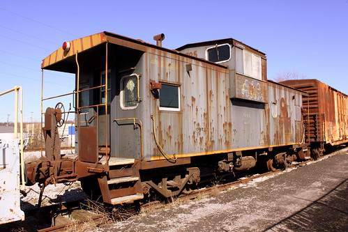 Old C&O Caboose - TCRY Museum