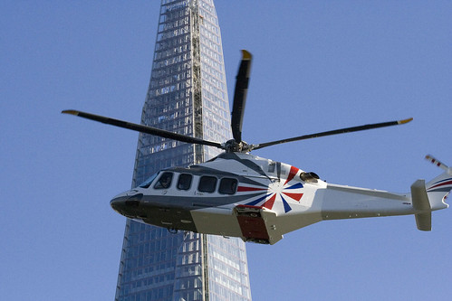 Copter and Shard