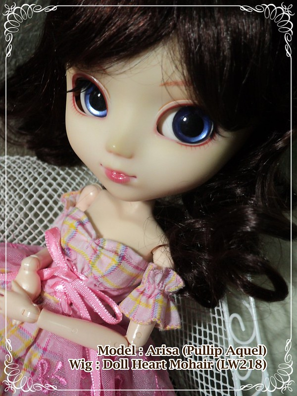 Arisa with Doll Heart Mohair Wig