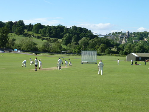 Cricket before the bridge