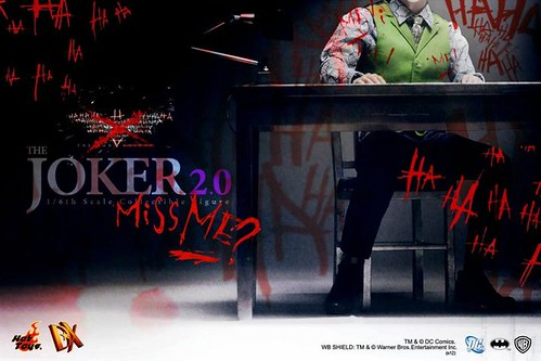 TDK Joker 2.0 - teaser from Hot Toys