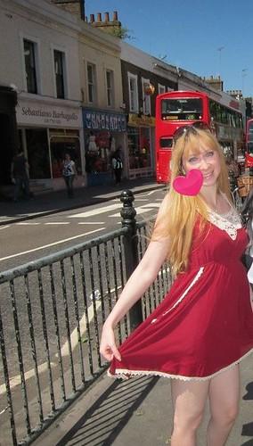 OOTD London England by KitaRei