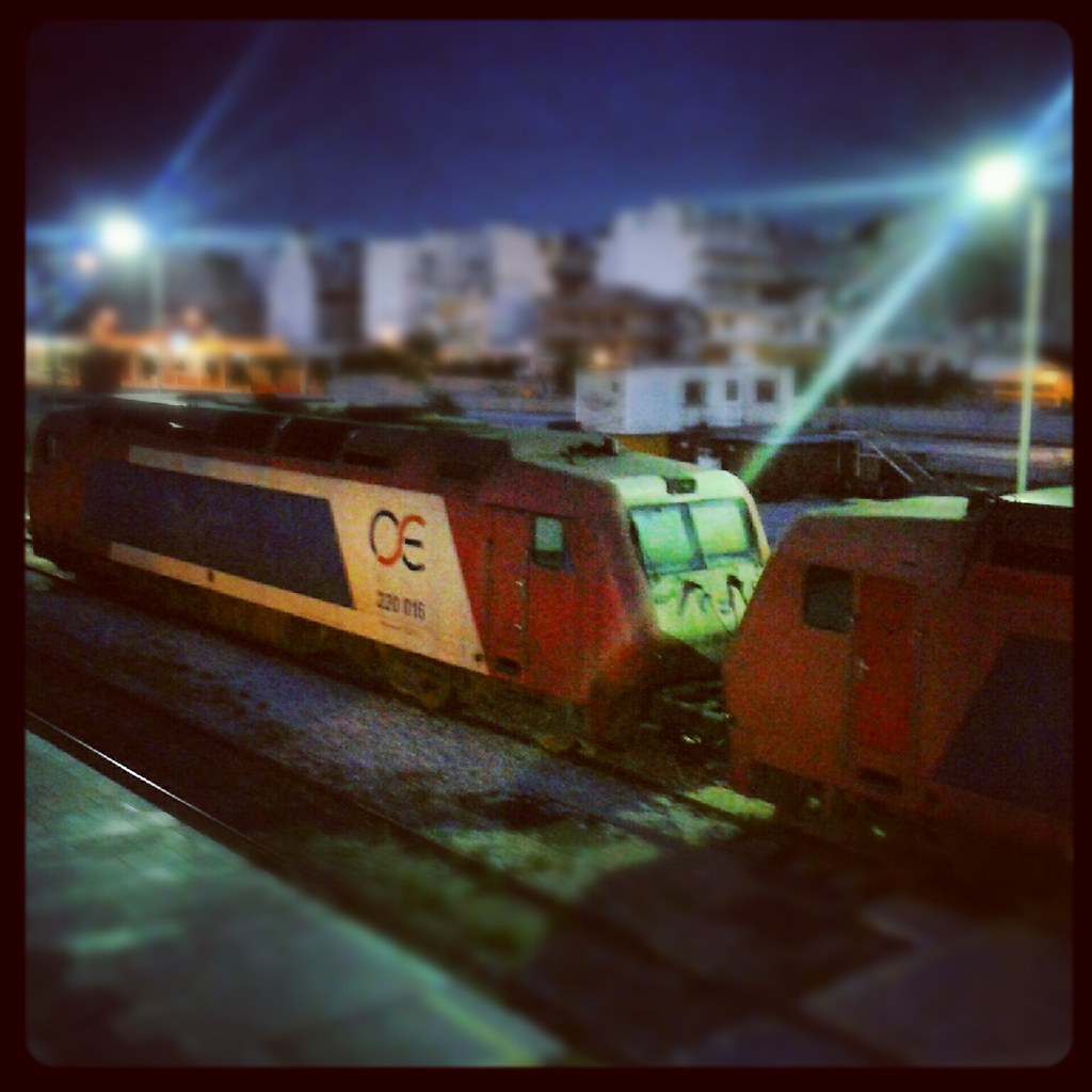 Early morning train