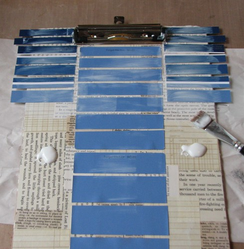Paint Chip Clipboard 012