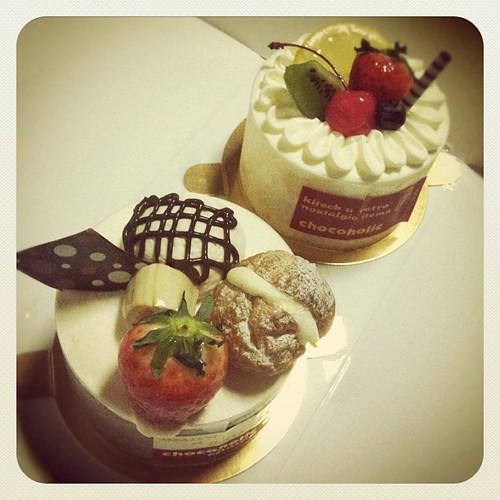 二日連続でケーキ・°◌.*。(ღ˘⌣˘ღ)・°◌.*。 #cake