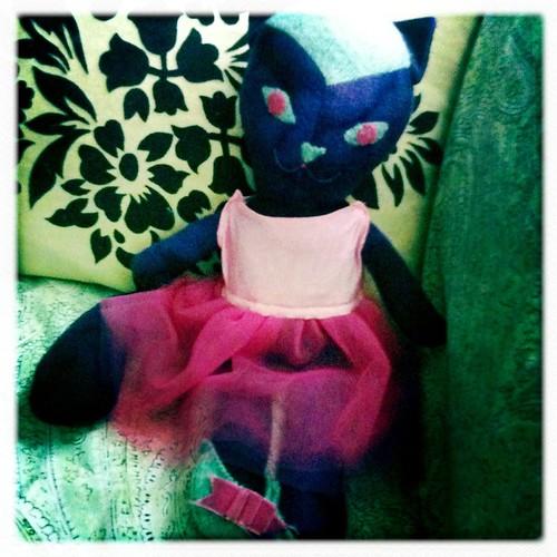 Kool Kat gets a tutu