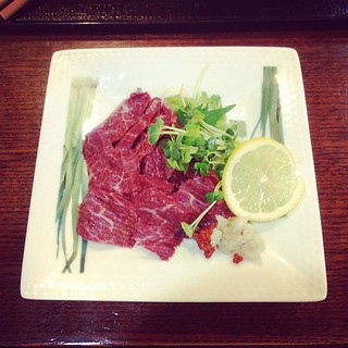 Raw horse meat