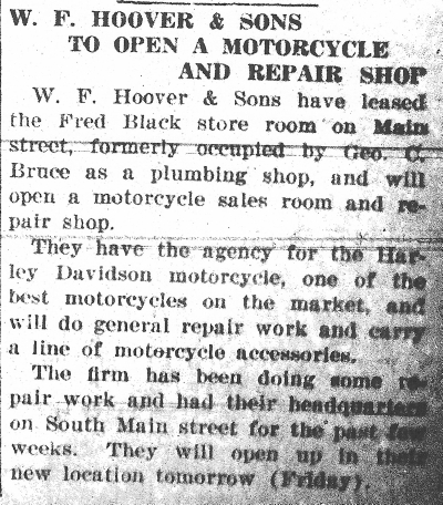 Hoover article, News, 7-31-1919