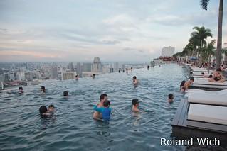Singapore - Marina Bay Sands Pool Area