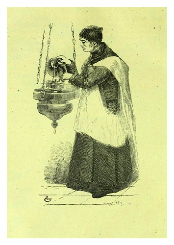 012-El sacristan-Los españoles pintados por si mismos-Tomo I-1843- Editado por Ignacio Boix