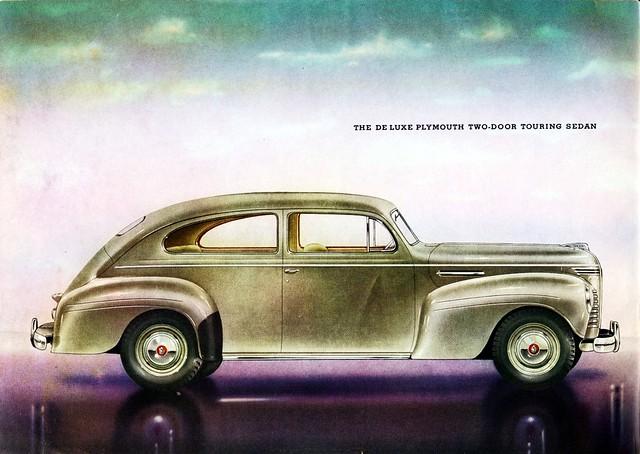 1940 plymouth de luxe two door touring sedan flickr for 1940 plymouth 2 door sedan