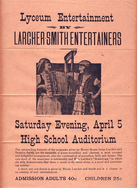 Larcher Smith Entertainers