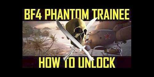 Battlefield 4: How to unlock Phantom Trainee
