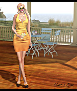 Zois Dress NEW RELEASE from coldlogic / Shoes by Emporium for CSR