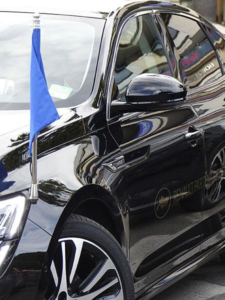 voiture du festival