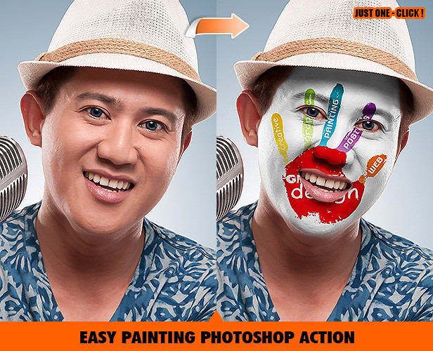 Portrait Painting Photoshop Action