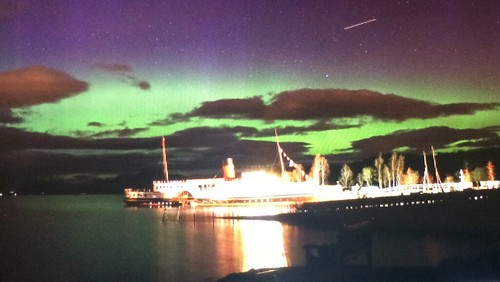Aurora Borealis (Northern Lights) Loch Lomond