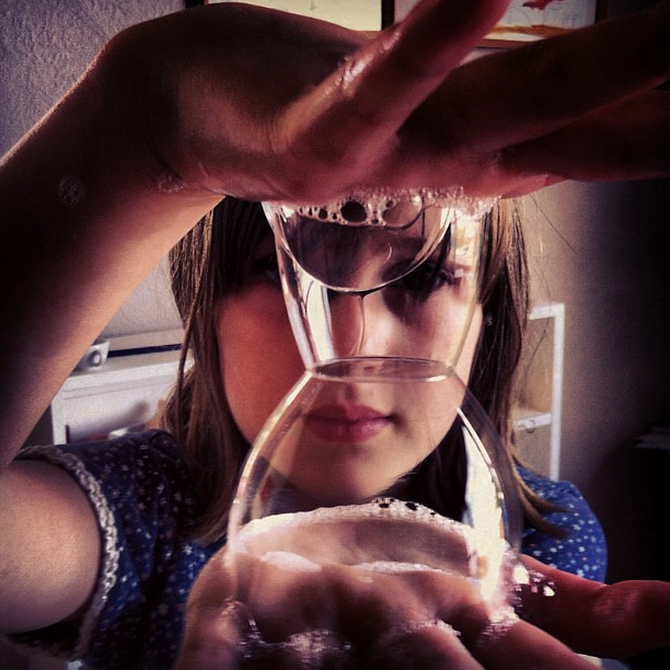 Bubbles #unschooling #science #play