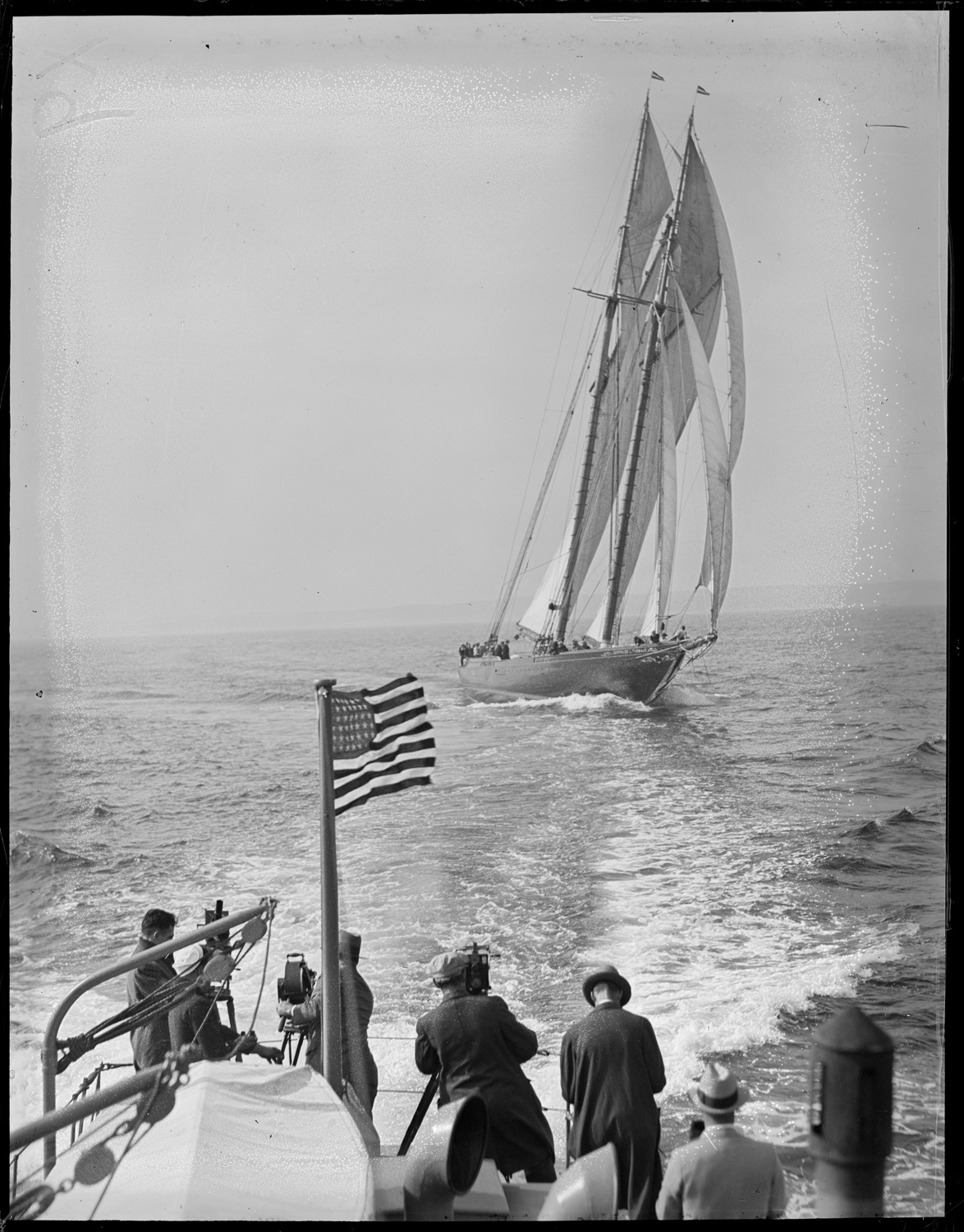 Gertrude L. Thebaud under sail