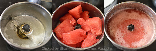 Watermelon Juice Recipe - Step2