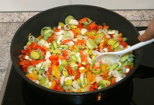 31 - Lauch & Frühlingszwiebeln mit braten / Roast leek & spring onions