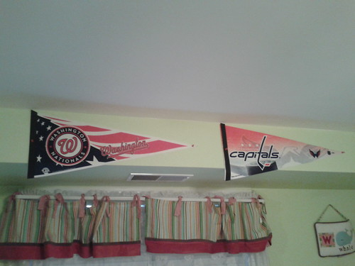 DC team pennants