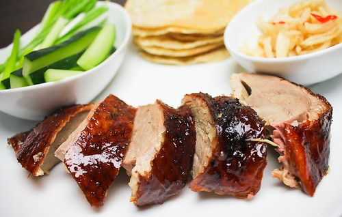 Quicker Peking Duck w/ Pancakes
