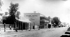 Murray Street 32 Globe Hotel c1895