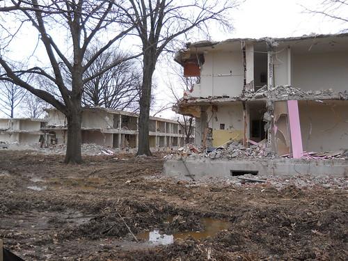 Iroquois project demolition 2012