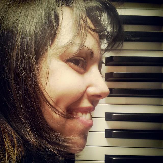 Imma Santacreu, pianista.
