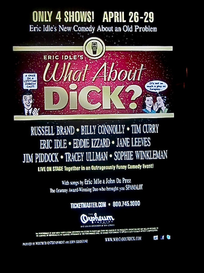 What About Dick poster