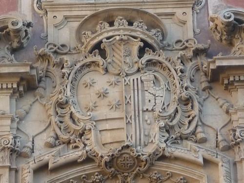 Murcia - Palacio Episcopal (Palacio Belluga) - Fachada principal